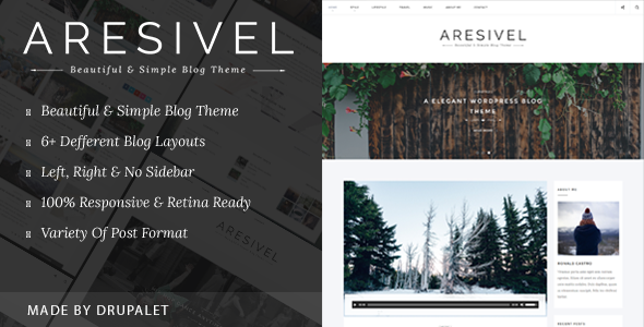 Drupal Aresivel theme