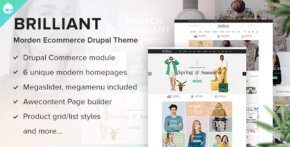 Drupal Brilliant Theme