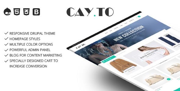 Drupal Cayto theme