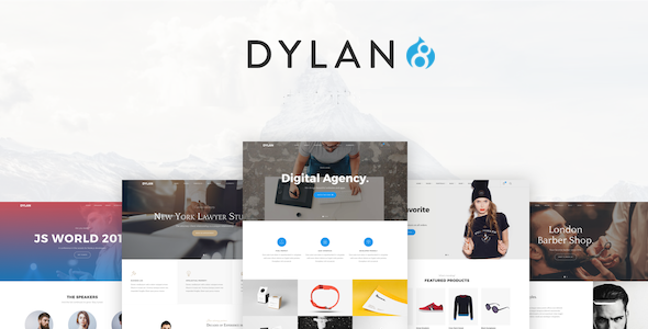 Drupal Dylan theme