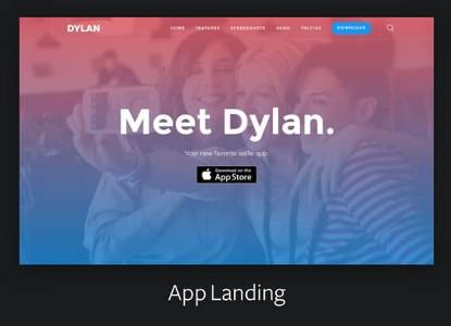 Dylan App Landing