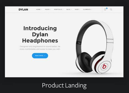 Dylan Product Landing