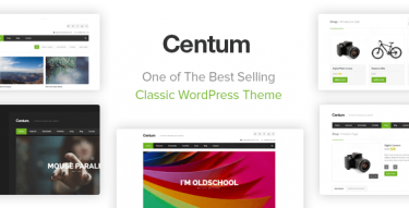 WordPress Centum Theme