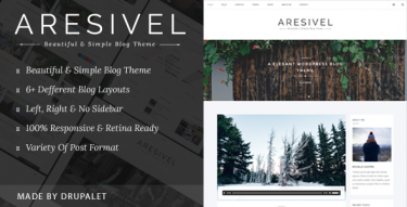 Drupal Aresivel theme