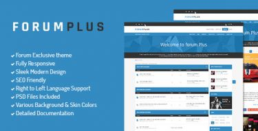 Drupal Forum Plus Theme