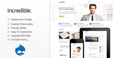 Drupal Incredible theme