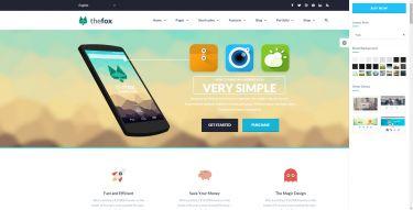 WordPress The Fox Theme