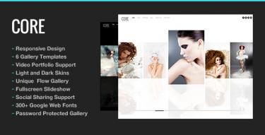 WordPress Core Theme