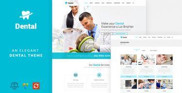 WordPress Dental Health Theme