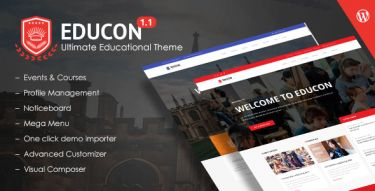 WordPress EduCon Theme