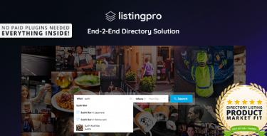 WordPress Listingpro Theme
