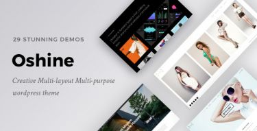 WordPress Oshine Theme