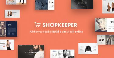 WordPress Shopkeeper Theme
