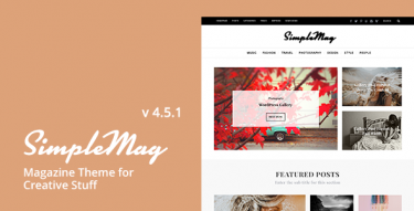 WordPress SimpleMag Theme