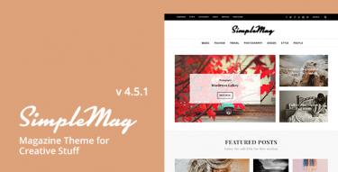 WordPress SimpleMag Theme