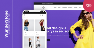 WordPress WunderStone Theme