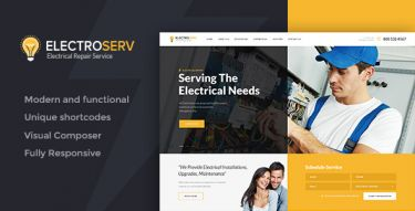 WordPress ElectroServ Theme