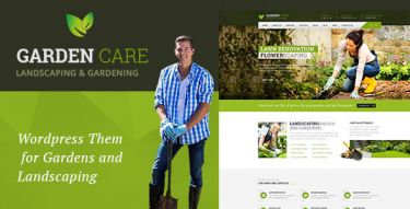 WordPress Garden Care Theme