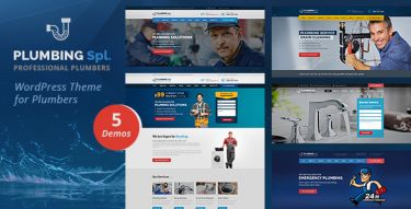 WordPress Plumbing Spl Theme