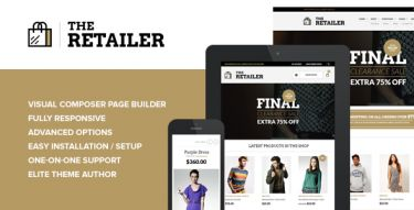 WordPress The Retailer Theme