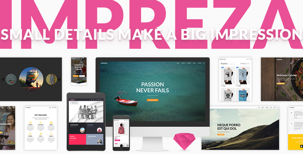 WordPress Impreza Theme