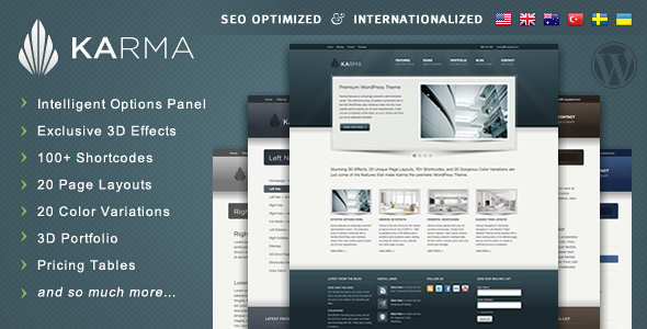 WordPress Karma Theme