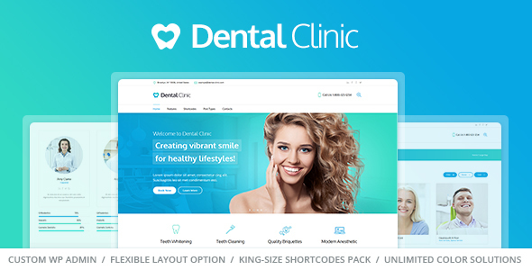 wordpress medical dental theme