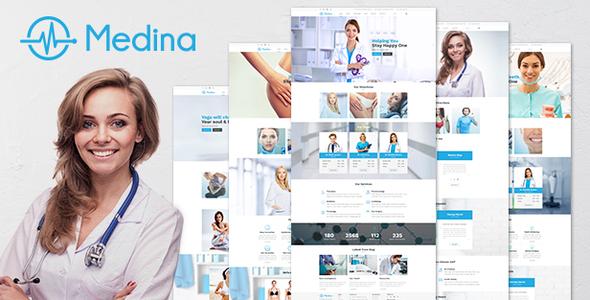 WordPress Medical Medina Theme