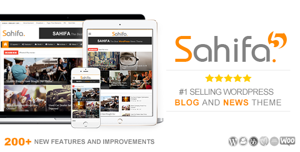 WordPress Sahifa Theme