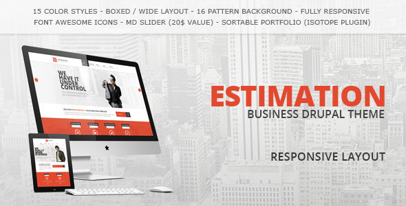 Drupal Estimation theme