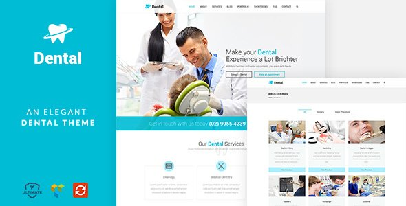 WordPress Dental Health Theme