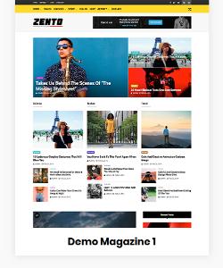 Zento Demo Magazine 1