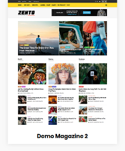 Zento Demo Magazine 2