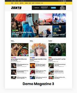 Zento Demo Magazine 3