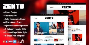 WordPress Zento Theme